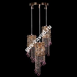 Подвесная люстра Кольцо №2 барное - 3 лампы