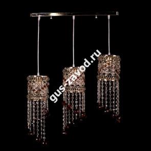 Подвесная люстра Кольцо №9 барное - 3 лампы