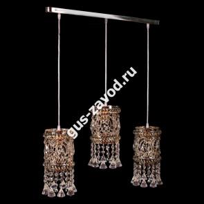 Подвесная люстра Кольцо №11 барное - 3 лампы