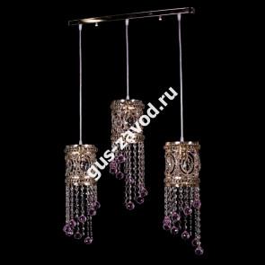 Подвесная люстра Кольцо №12 барное - 3 лампы