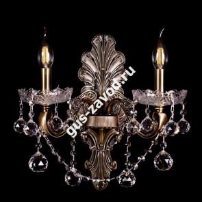 Бра Венеция №1 - 2 лампы под бронзу