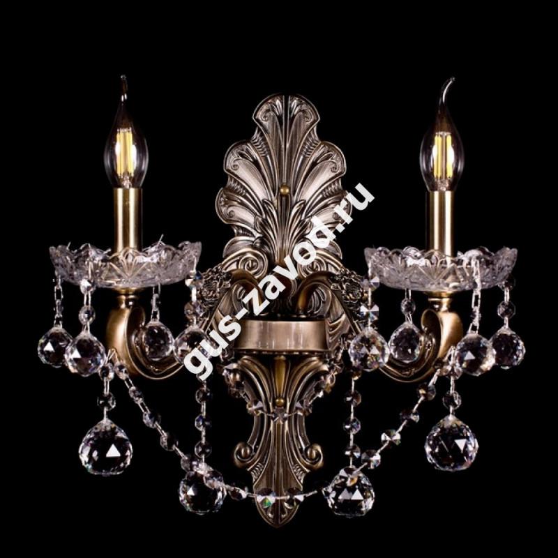 Бра Венеция №3 - 2 лампы под бронзу