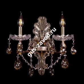 Бра Венеция №2 - 2 лампы под бронзу