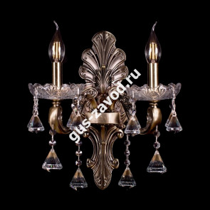 Бра Венеция №4 - 2 лампы под бронзу