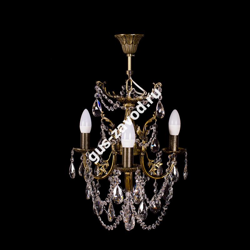 Люстра Изабелла ангел 3 лампы бронзовая