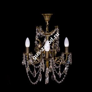 Подвесная люстра Изабелла ангел 4 лампы бронзовая