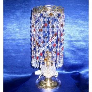 Настольная лампа Анжелика 2 Меланж карандаш цветная