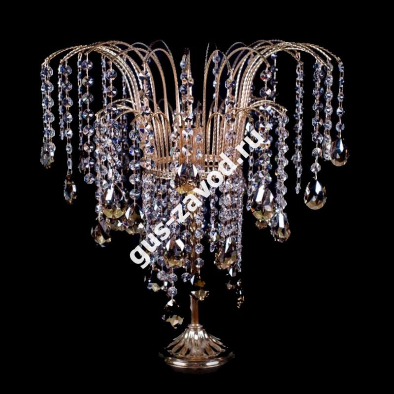 Настольная лампа Каскад №4 цветная