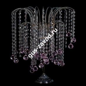 Настольная лампа Каскад №8 цветная