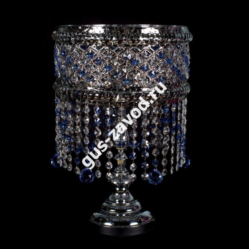 Настольная лампа Кольцо Сетка №3 цветная
