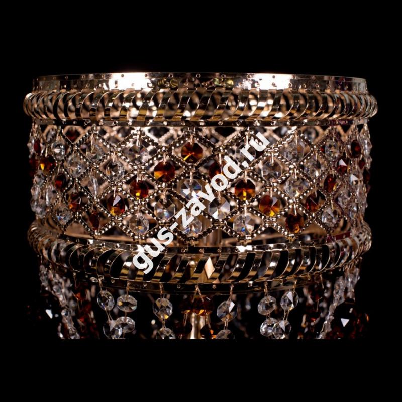 Настольная лампа Кольцо Сетка №4 цветная