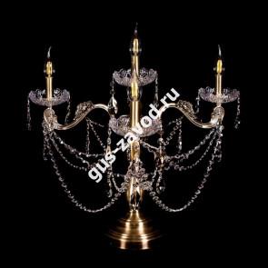 Настольная лампа Венеция №2 под бронзу
