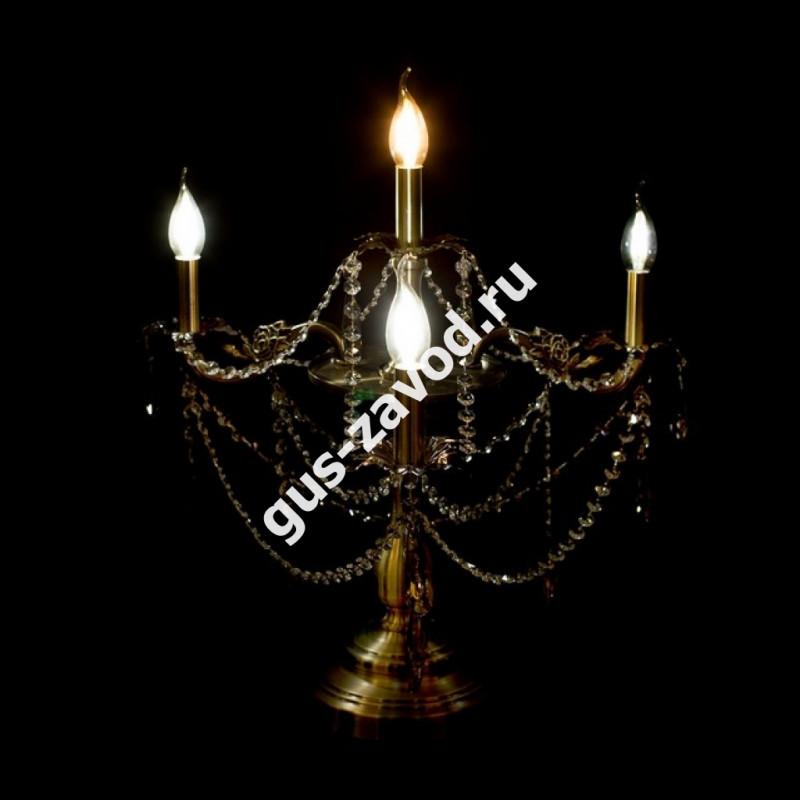 Настольная лампа Винтаж №5 под бронзу