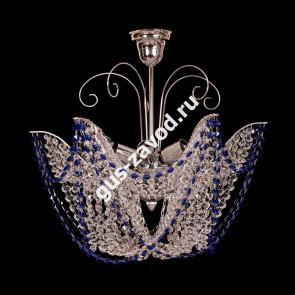 Подвесная люстра Орхидея №3 цветная