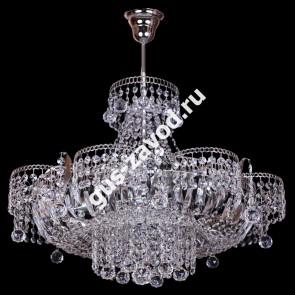 Подвесная люстра Ромашка 6 ламп с подвесом Шар