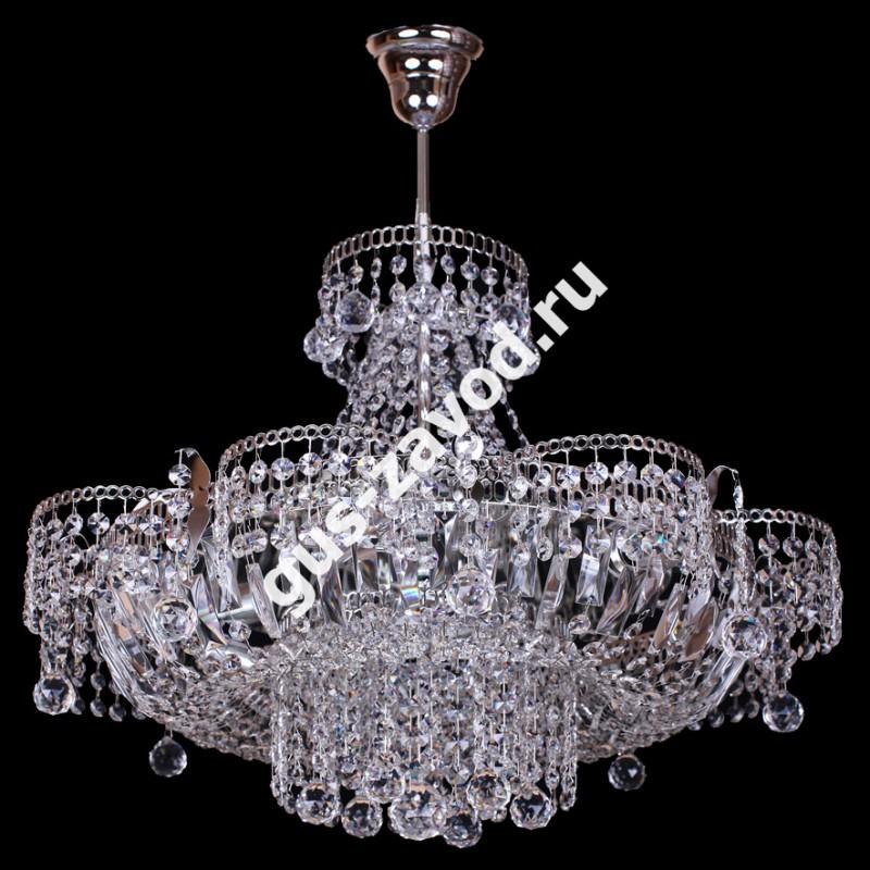 Люстра Ромашка 6 ламп с подвесом Шар