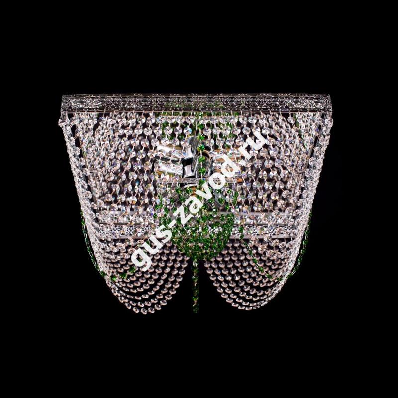 Люстра Квадрат №7 зеленый