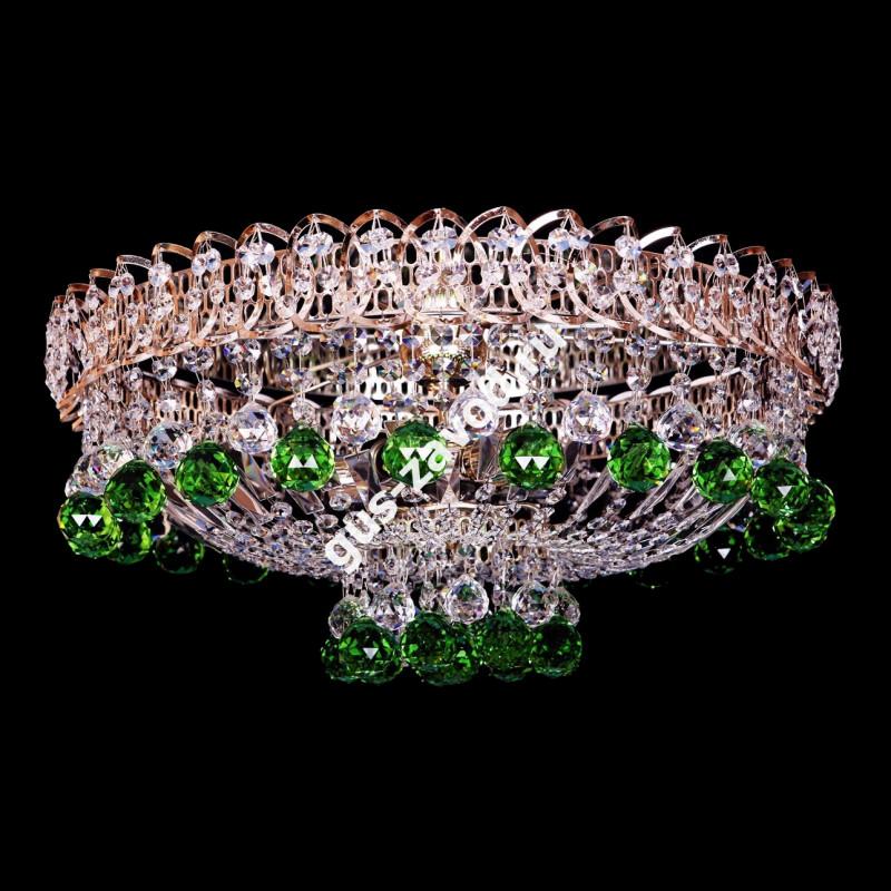 Люстра Катерина шар зеленая