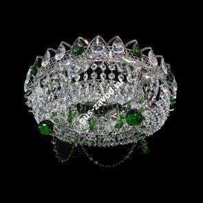 Потолочная люстра Кольцо Ожерелье Шар цветная