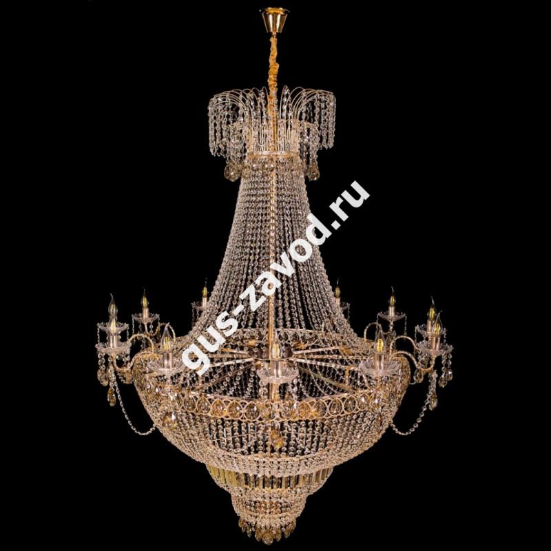 Люстра Капель №2 - 24 лампы