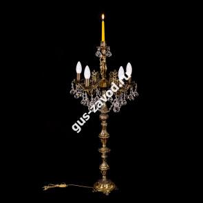 Торшер Изабелла Богиня 5 ламп со свечей